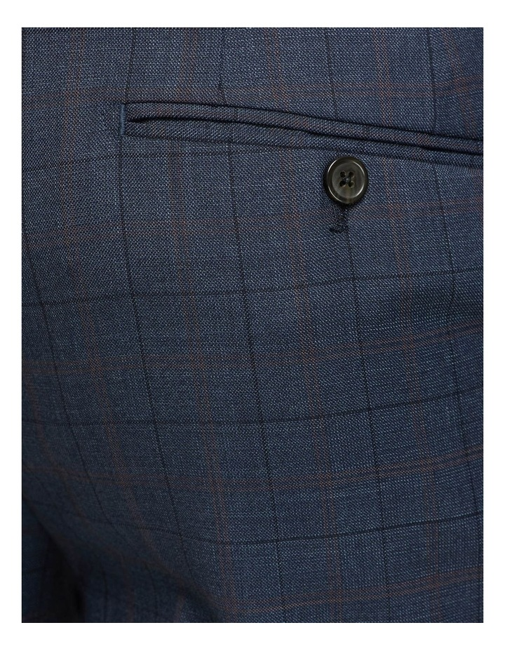 Byron Wool Stretch Checked Trousers image 6