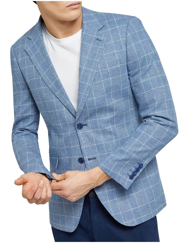 Blake Linen Blend Checked Blazer image 4