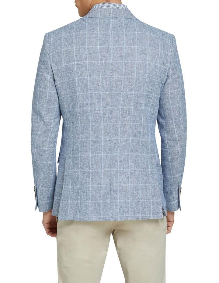 Blake Linen Blend Checked Blazer image 2