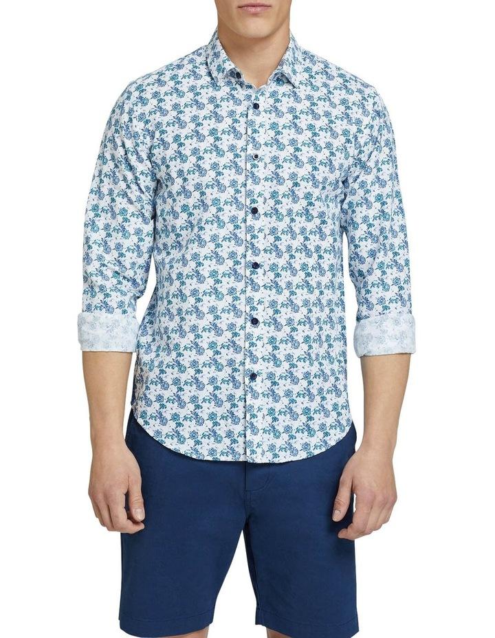 Kenton Linen Cotton Floral Shirt image 1
