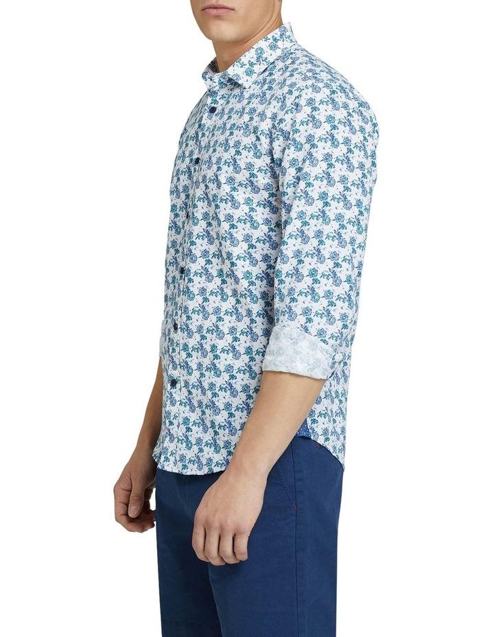 Kenton Linen Cotton Floral Shirt image 2