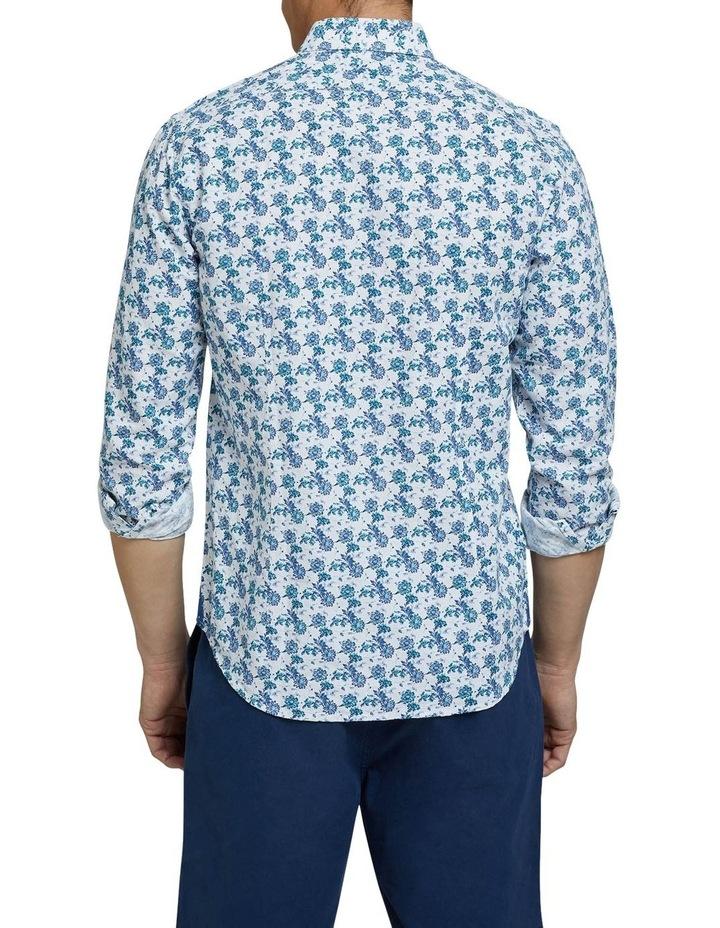 Kenton Linen Cotton Floral Shirt image 3