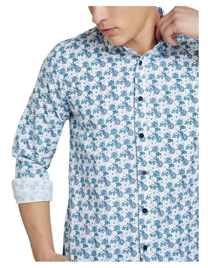Kenton Linen Cotton Floral Shirt image 4