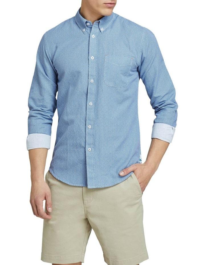 Uxbridge Linen Cttn Star Prt Shirt image 1