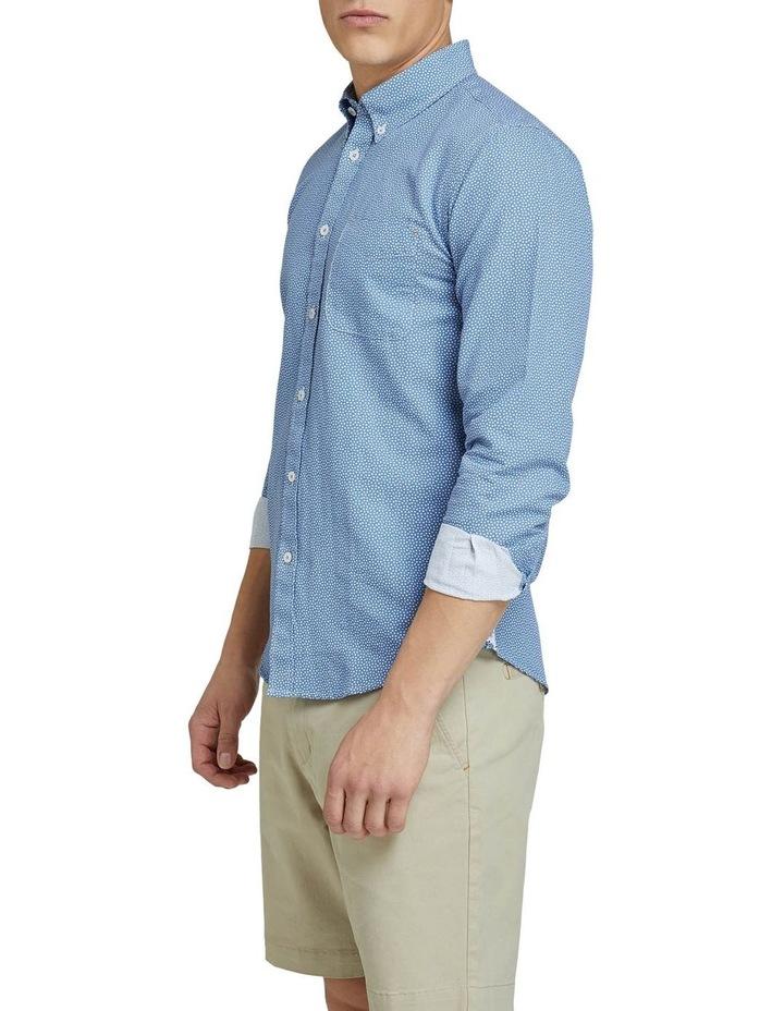 Uxbridge Linen Cttn Star Prt Shirt image 2