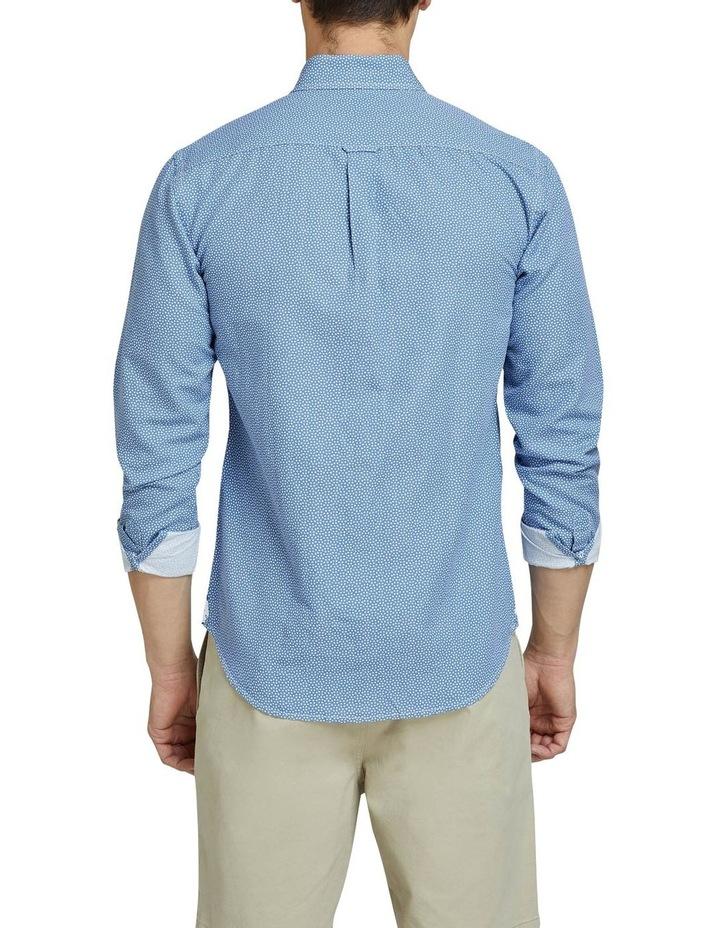 Uxbridge Linen Cttn Star Prt Shirt image 3