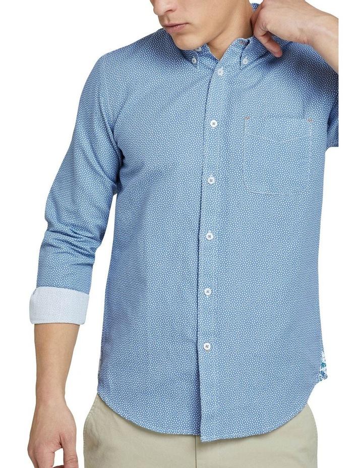 Uxbridge Linen Cttn Star Prt Shirt image 4