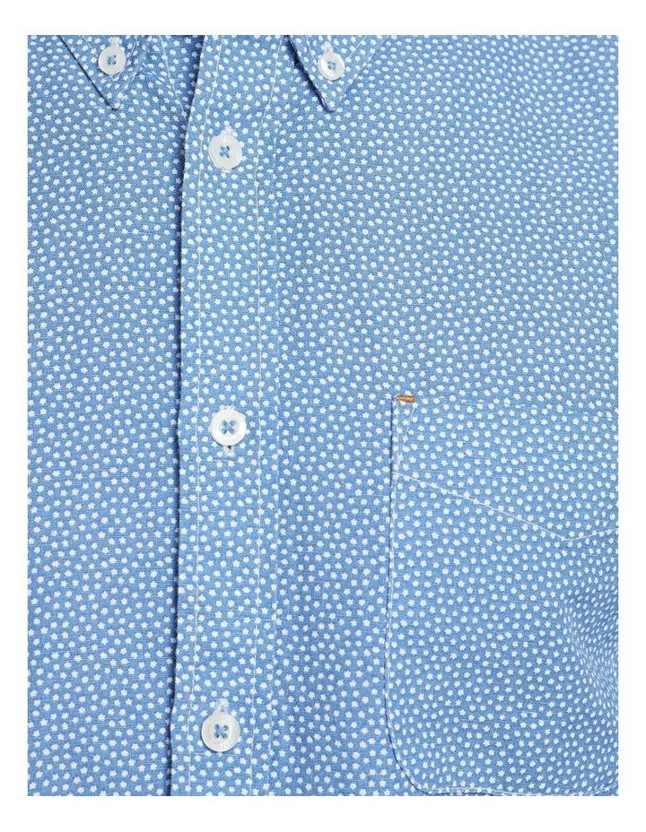 Uxbridge Linen Cttn Star Prt Shirt image 6
