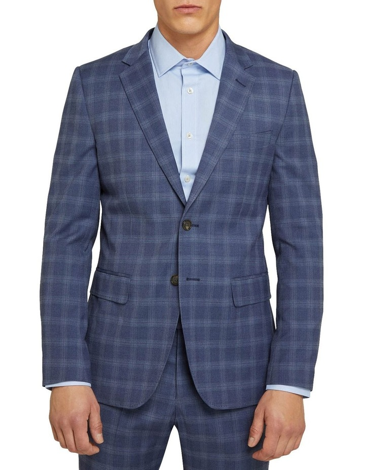 Auden Eco Checked Suit Jacket image 1