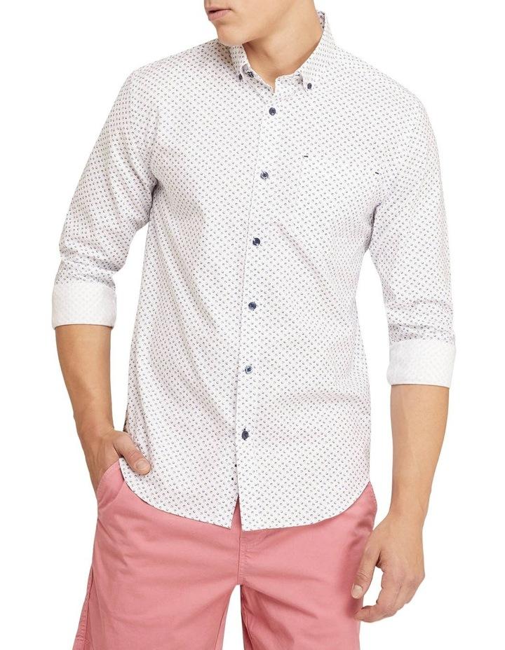 Stratton Oxford Weave Print Shirt image 1