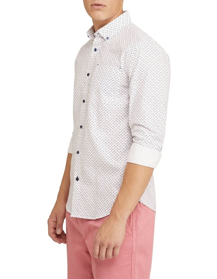 Stratton Oxford Weave Print Shirt image 2