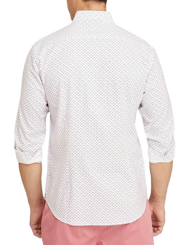 Stratton Oxford Weave Print Shirt image 3