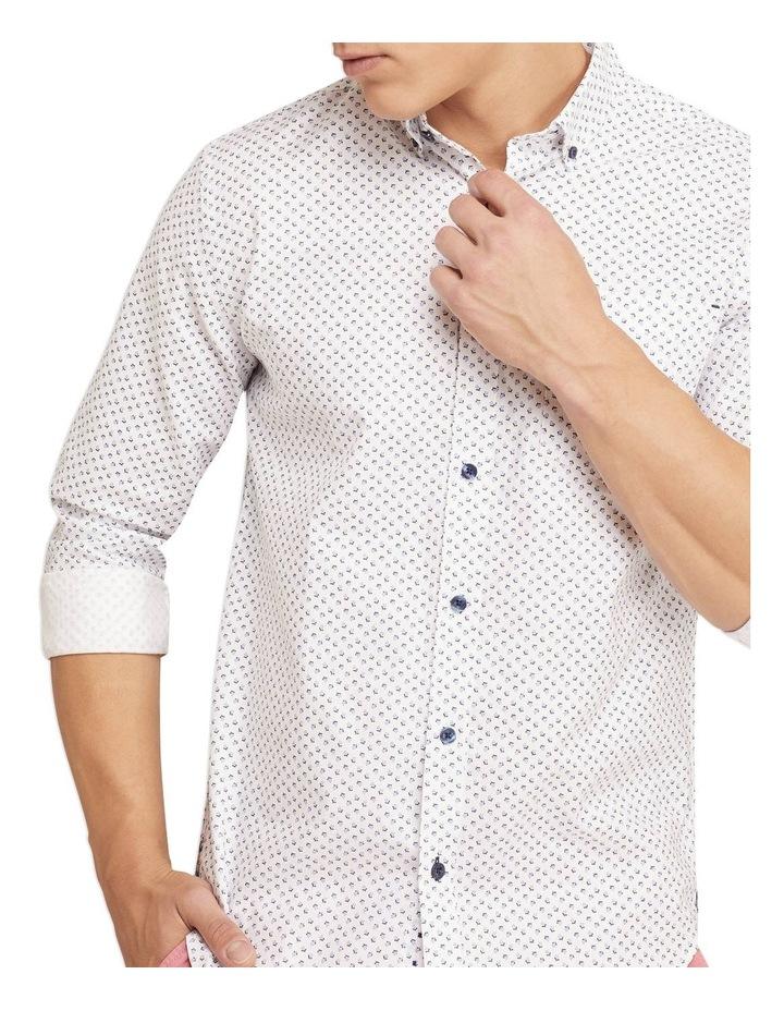 Stratton Oxford Weave Print Shirt image 4
