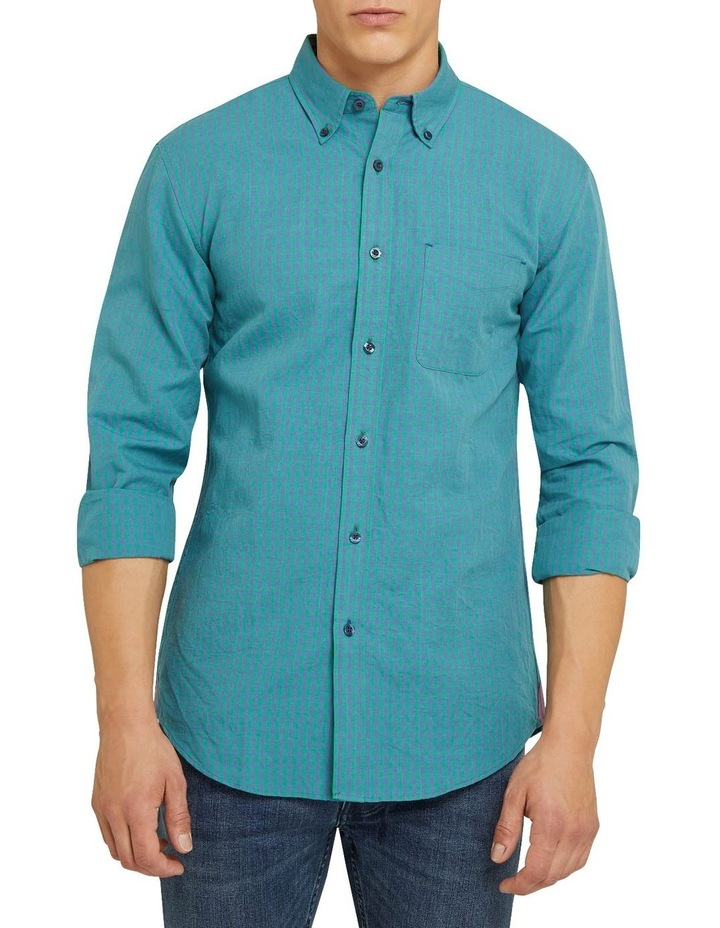 Uxbridge Linen Cotton Check Shirt image 1
