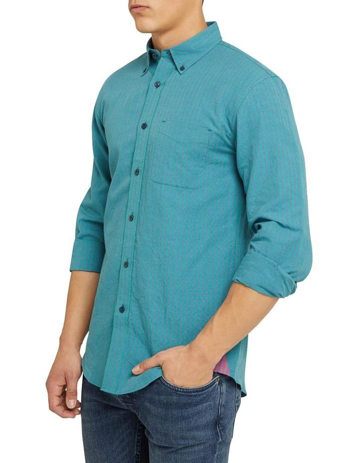 Uxbridge Linen Cotton Check Shirt image 2