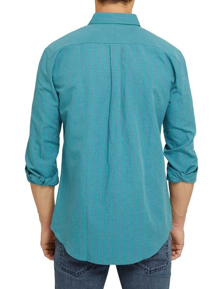 Uxbridge Linen Cotton Check Shirt image 3