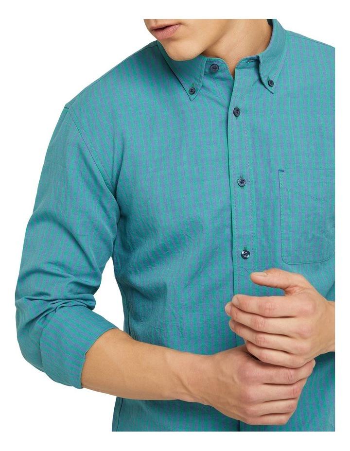 Uxbridge Linen Cotton Check Shirt image 4