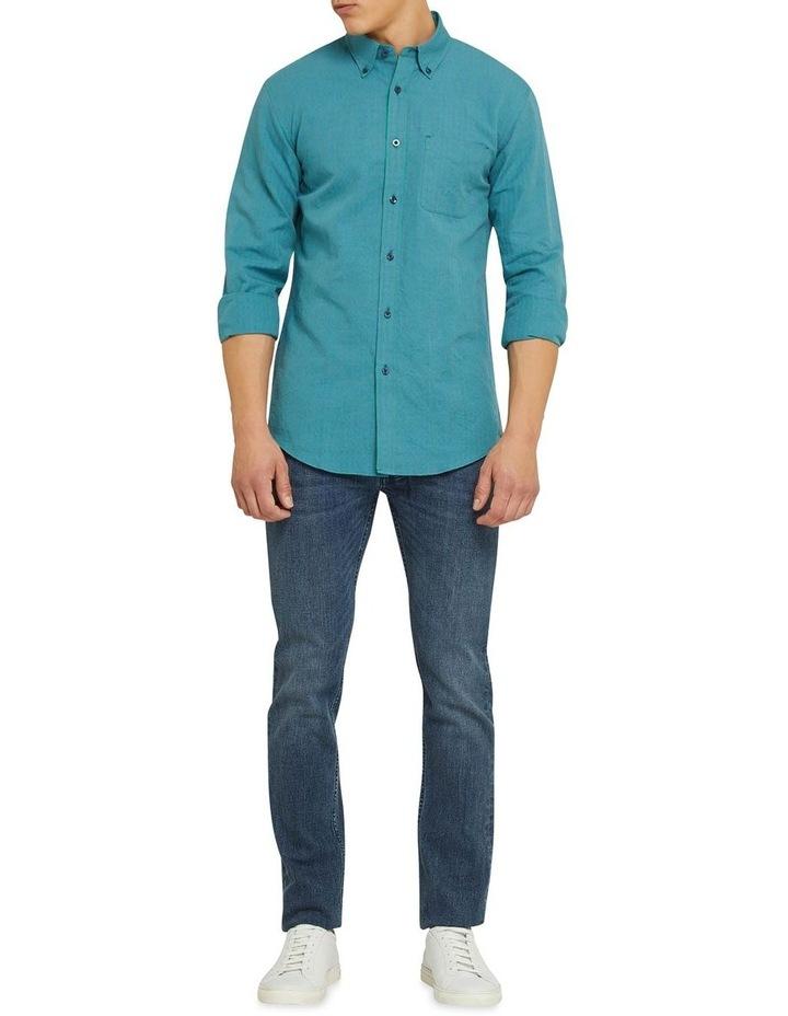 Uxbridge Linen Cotton Check Shirt image 5