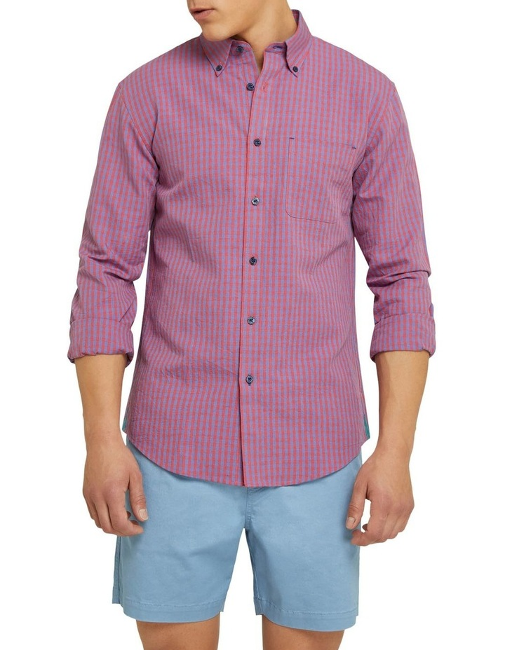 Uxbridge Linen Cotton Check Shirt image 1