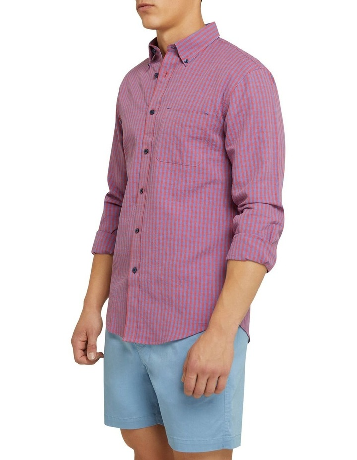 Uxbridge Linen Cotton Check Shirt image 2