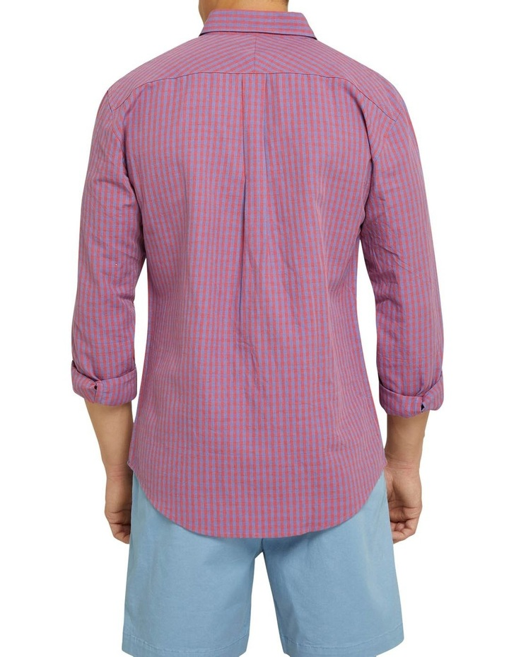 Uxbridge Linen Cotton Check Shirt image 3