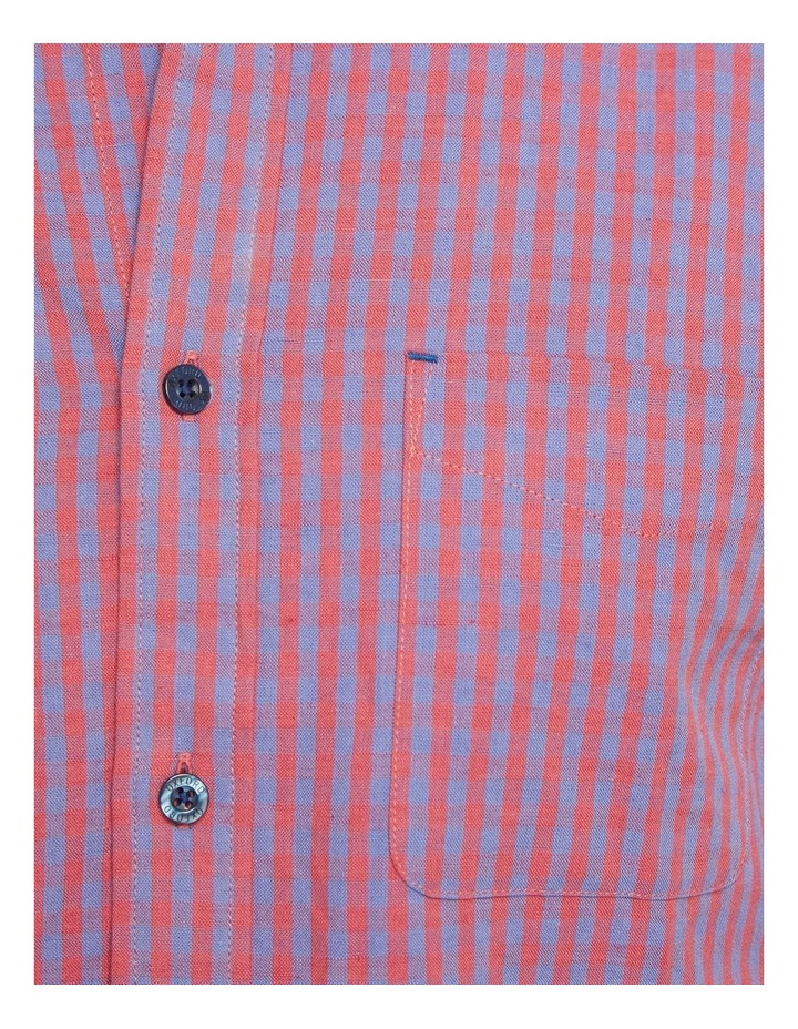 Uxbridge Linen Cotton Check Shirt image 6