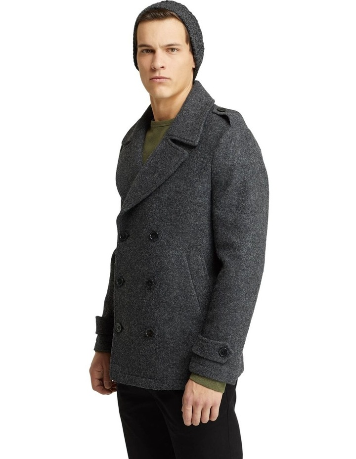 HENRY KNITTED PEA COAT image 2