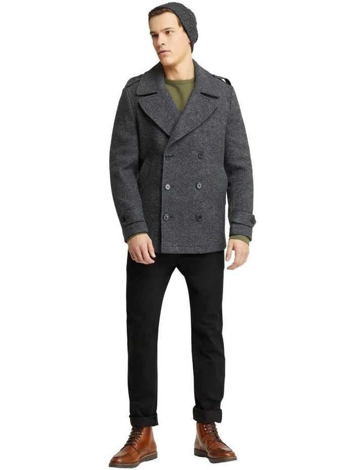 HENRY KNITTED PEA COAT image 5
