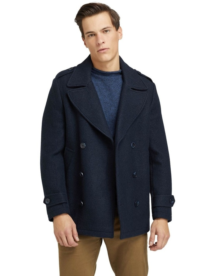 HENRY KNITTED PEA COAT image 1