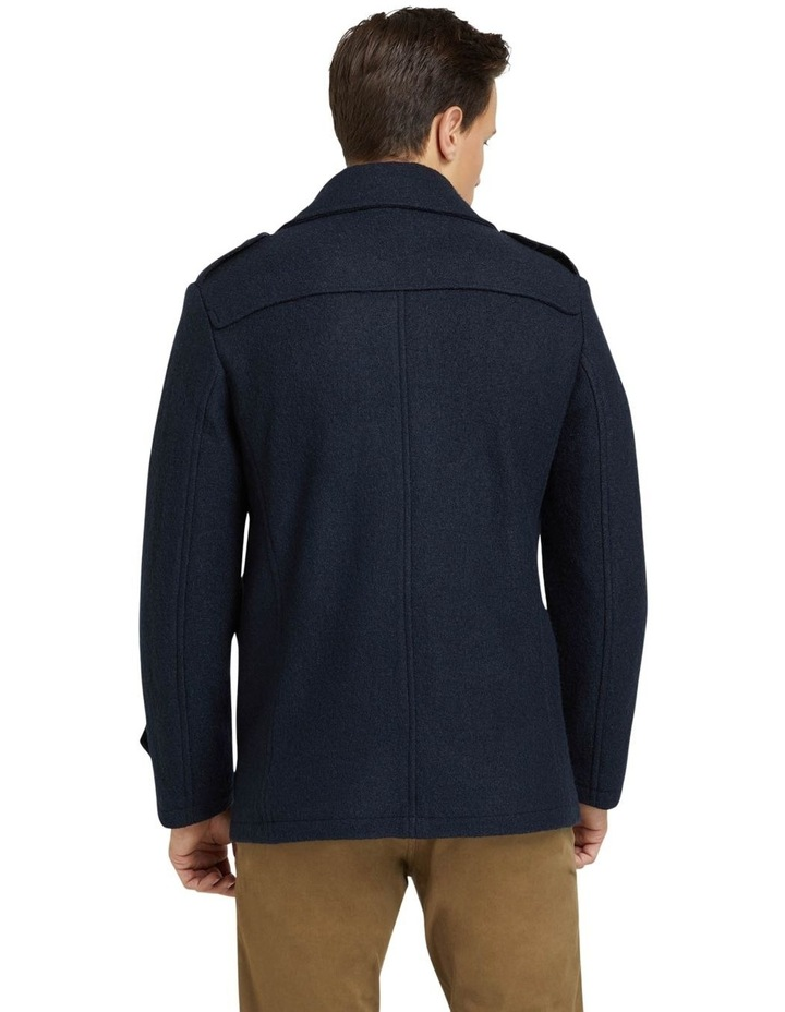 HENRY KNITTED PEA COAT image 3