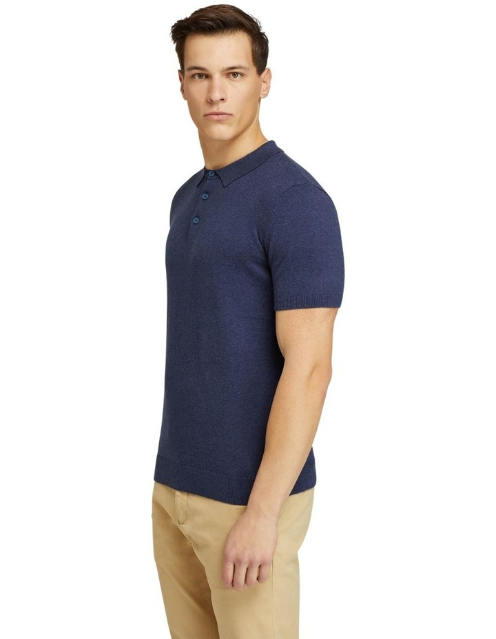 Reiss S/s Knitted Pol image 2