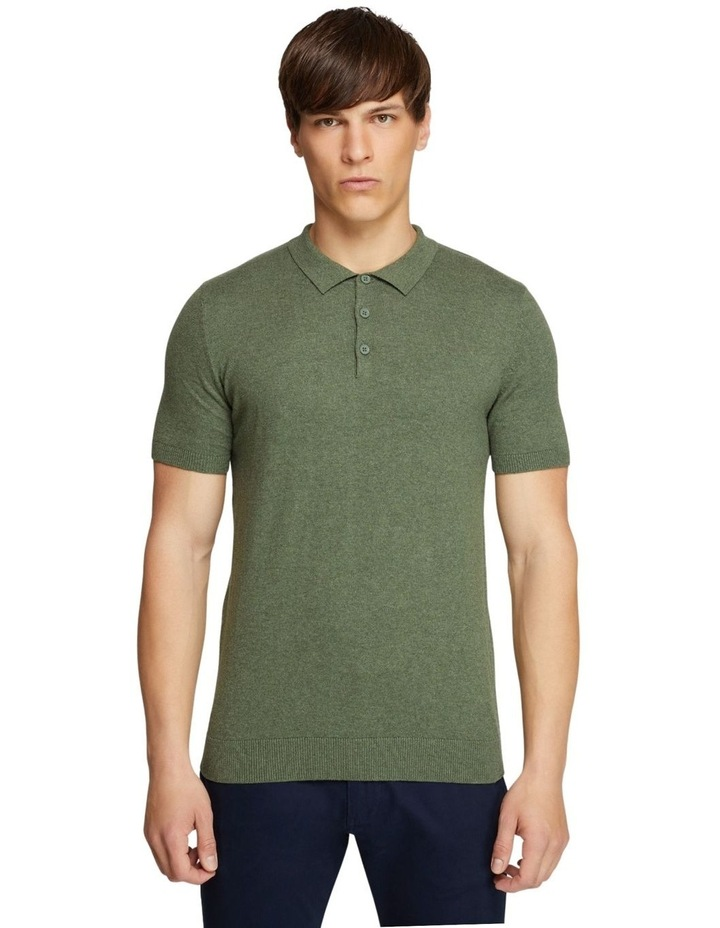 Reiss S/s Knitted Pol image 1