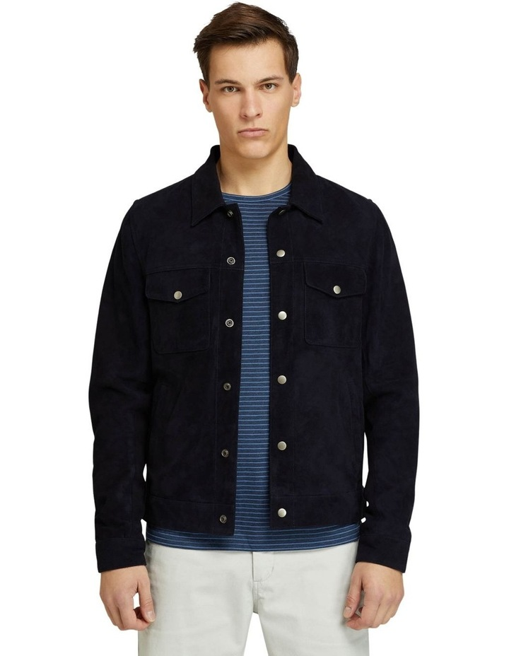 Oliver Goat Suede Leather Jacket image 1