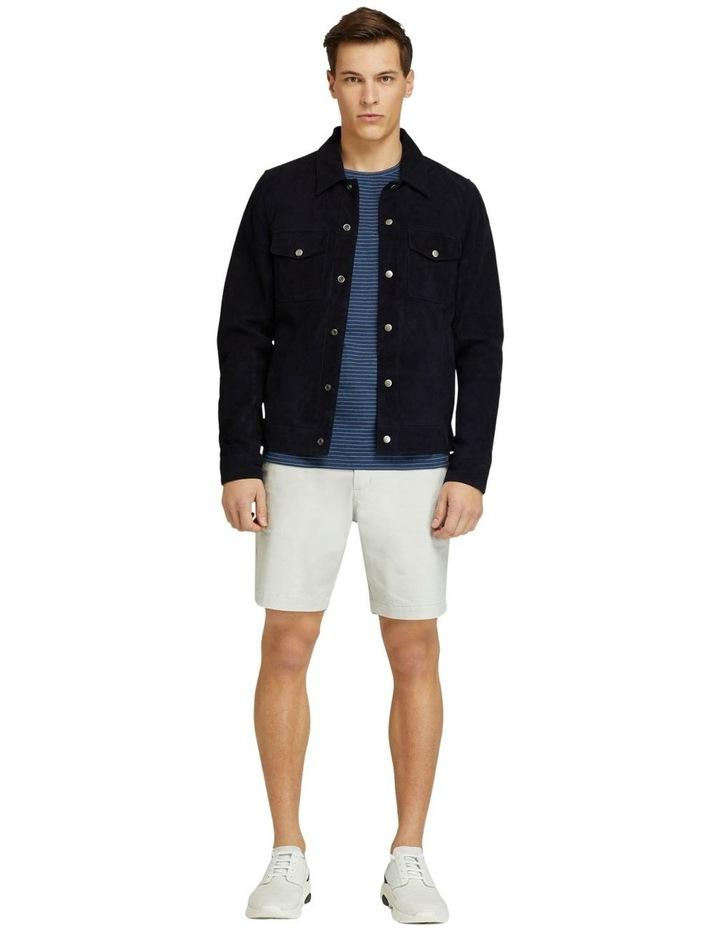 Oliver Goat Suede Leather Jacket image 5