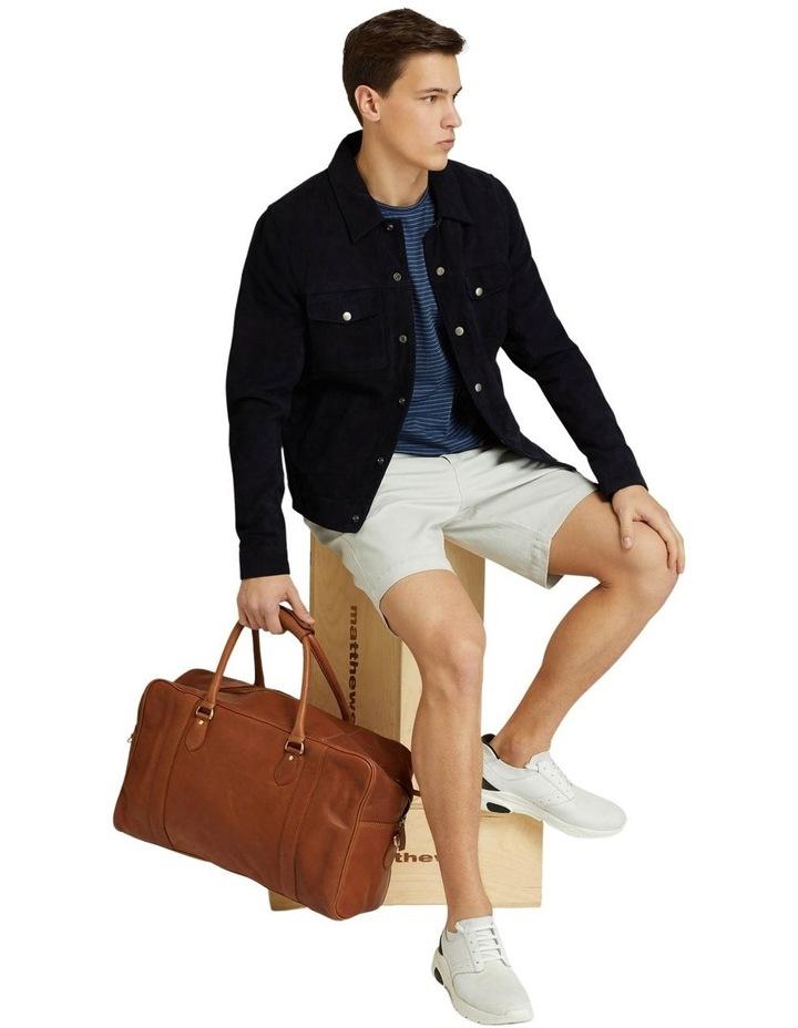 Oliver Goat Suede Leather Jacket image 7