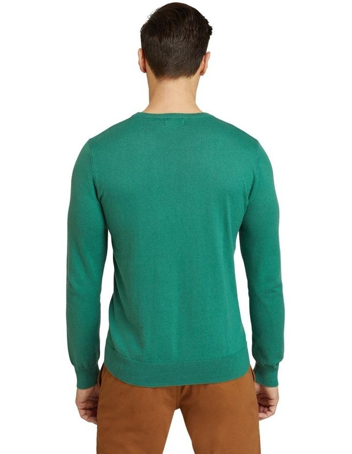 Crew Neck Cotton Cashmere Pullover image 3