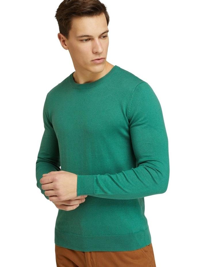 Crew Neck Cotton Cashmere Pullover image 4