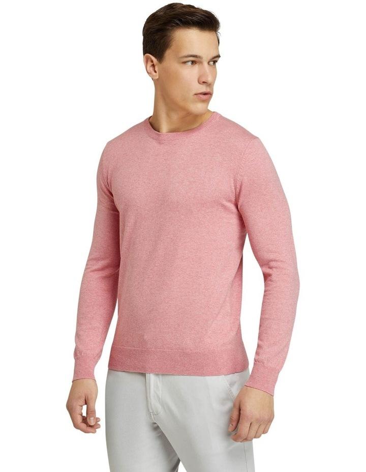 Crew Neck Cotton Cashmere Pullover image 2