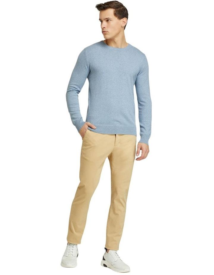 Crew Neck Cotton Cashmere Pullover image 5