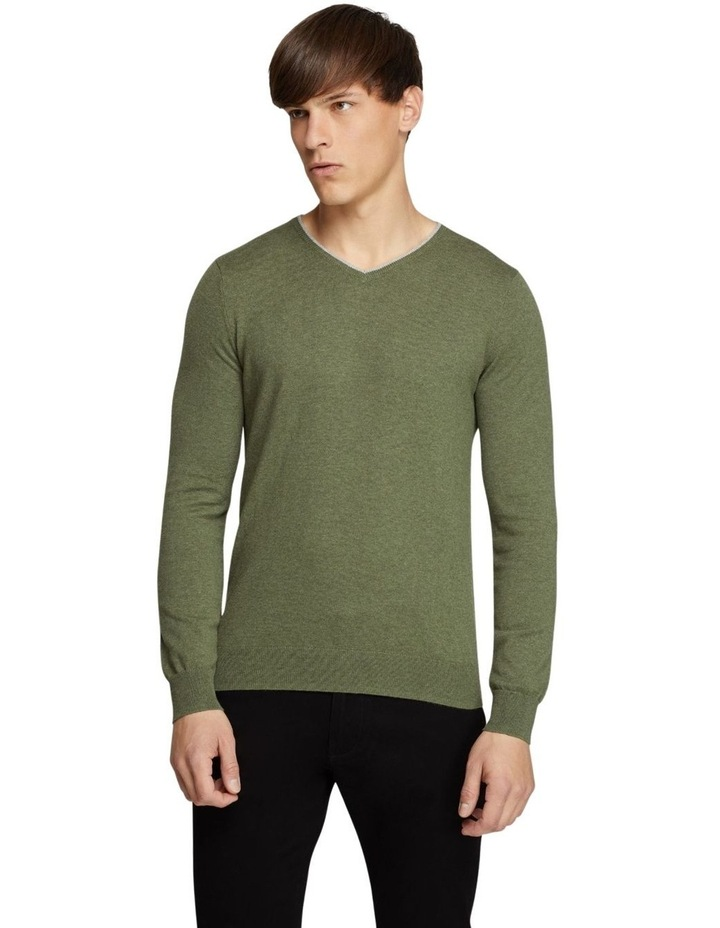 Perry Tipping V-neck Cashmere Blend image 1