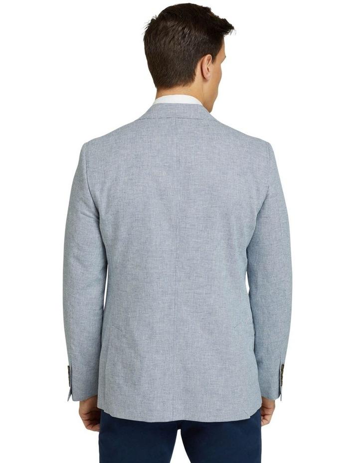 Blake Microcheck Linen Blend Blazer image 3
