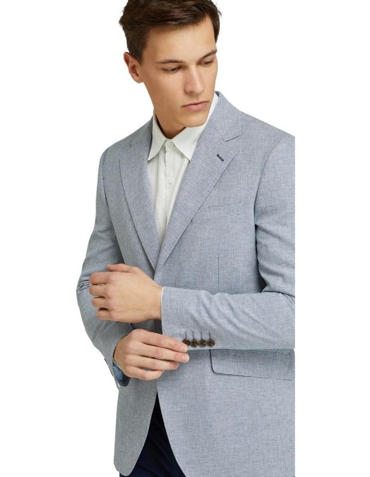 Blake Microcheck Linen Blend Blazer image 4