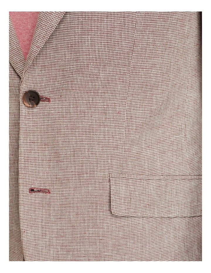 Blake Microcheck Linen Blend Blazer image 6