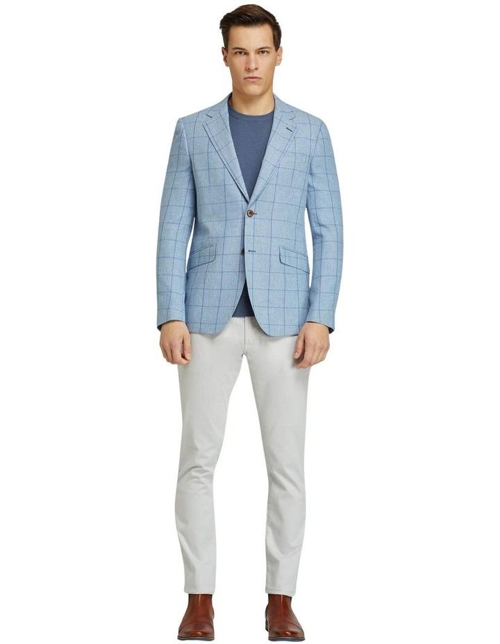 Blake Linen Cotton Checked Blazer image 5