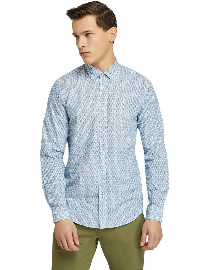 Straton Leaves Print Shirt image 1