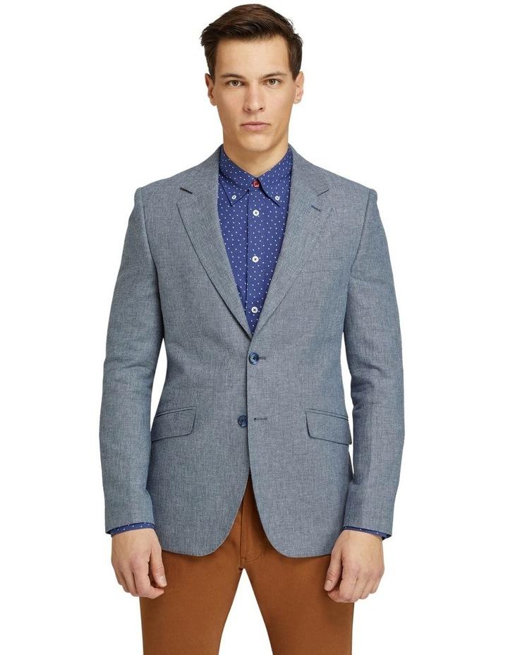 Blake Linen Cotton Blend Blazer image 1