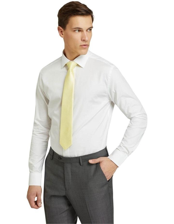 Islington Dobby Regular White Shirt image 2