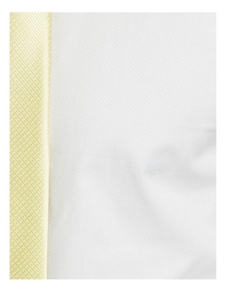 Islington Dobby Regular White Shirt image 6