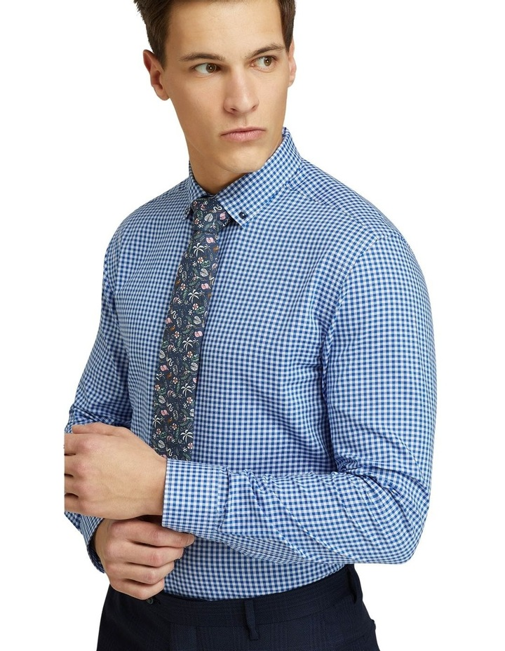 Stratton Slim Fit Checked Shirt image 4