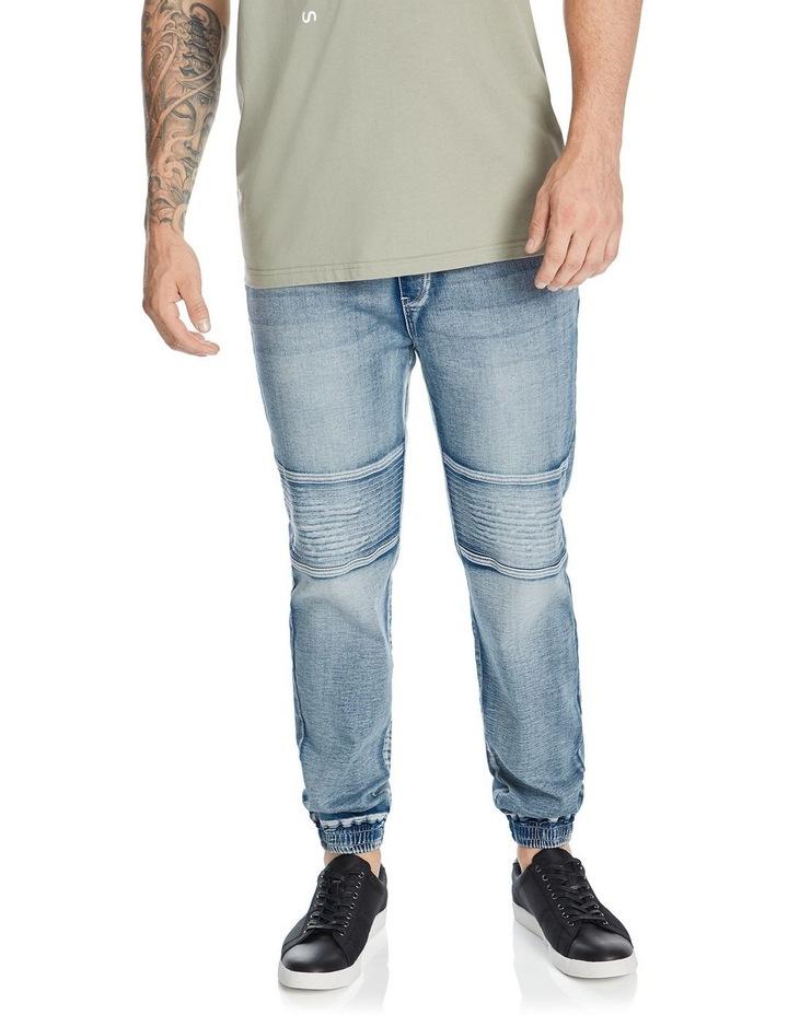 Marlee Stretch Knit Cuff Jean image 1